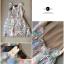 Lady Ribbon Vintage Dress เดรสชีฟอง ดีเทลหลังซีทรู thumbnail 10
