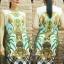 Vintage Dress เดรสแขนกุด พิมพ์ลายวินเทจสไตล์ไฮแบรนด์ thumbnail 3