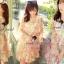 Seoul Secret Chiffon Pink Sakura Dress thumbnail 1