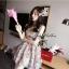 Lady Ribbon Vintage Dress เดรสชีฟอง ดีเทลหลังซีทรู thumbnail 1