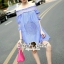 Seoul Secret Sweepy Smocking Chic Dress thumbnail 1
