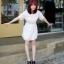 Cherry KOKO Polka Dot Minidress เดรสผ้าชีฟอง ลายจุด thumbnail 3