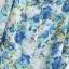 ZARA เสื้อคอจีน ผ้าพิมพ์ลายดอก โทนสีน้ำเงินฟ้า thumbnail 10