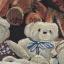 Cherry KOKO เดรสผ้าทอลายหมี ตัดต่อผ้าขนสัตว์ที่ปกคอและกระเป๋า thumbnail 12