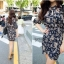 Icevanilla Classic Floral Dress thumbnail 2