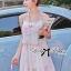 Lady Ribbon Pastel Dream Chiffon Dress thumbnail 1