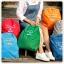 Colorful Simple Backpack กระเป๋าเป้พับได้ thumbnail 3