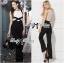 Lady Ribbon Elegant Minimal Chic Style Cut-Out Jumpsuit thumbnail 1