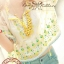 Lady Ribbon Bohemian pastel blouse เสื้อปักดอกไม้ สีพาสเทล thumbnail 2