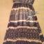 Lady Ribbon Floral Maxi Dress แมกซี่ชีฟองพิมพ์ลายลูกไม้ thumbnail 11