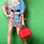 Seoul Secret Colorful Coral Dress thumbnail 1