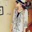 Lady Ribbon Embroidery Chiffon Dress เดรสปักลาย ผ้าชีฟอง thumbnail 1
