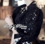 Lady Ribbon เสื้อผ้าคอตตอนตัดต่อผ้าลูกไม้ช่วงแขน สีขาว สีดำ thumbnail 7