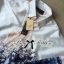 Lady Ribbon Navy Summer Natural Printed Shirt thumbnail 6