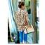 เสื้อตัวยาว ผ้าชีฟอง พิมพ์ลายดอกไม้ แต่งเลื่อม thumbnail 2