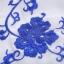 Ice Vanilla เดรสผ้าชีฟอง ปักไหมสีน้ำเงิน ลายดอกไม้วินเทจ thumbnail 8