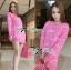 Barbie Girl Sweater Dress เดรสสเวตเตอร์ทอลายสไตล์ Moschino thumbnail 5
