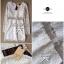 Lady Ribbon Lace Mini Dress มินิเดรสแขนยาว ดีเทลลูกไม้ทั้งตัว thumbnail 12