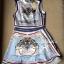 Lady Ribbon Givenchy Print Mini Dress มินิเดรสผ้าซิลค์พิมพ์ลาย thumbnail 11