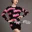 Barbie Girl Sweater Dress เดรสสเวตเตอร์ทอลายสไตล์ Moschino thumbnail 1