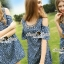 Seoul Secret Star Star Denim Dress thumbnail 8