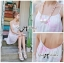 Lady Ribbon Pastel Dream Chiffon Dress thumbnail 7