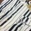 Sevy Moschino Stripped Short Bat Sleeve Jumpsuit thumbnail 9