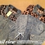 Lady Ribbon Leopard Denim Shirt เสื้อเชิ้ตยีนส์ ช่วงไหล่ชีฟองลายเสือ thumbnail 6