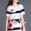 Seoul Secret Stripy Rose Dress thumbnail 8