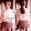 Lady Ribbon Lace Cardigan เสื้อคลุม ช่วงไหล่แต่งผ้าซีทรู สีขาว สีดำ thumbnail 6