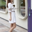 Seoul Secret Nifty Bohe Embroider Ivory Dress thumbnail 4