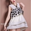 Marsh Mallow Polka Dot and Strip Dress thumbnail 2