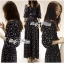 Lady Ribbon Sweet Delicate Print Maxi Dress thumbnail 3