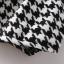 กระโปรงสั้น ผ้าไหมพรม ถักลายชิโนริ เอวยางยืด thumbnail 8