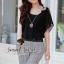 Seoul Secret ชุดเซ็ท เสื้อผ้าชีฟอง กางเกงทรง Halem thumbnail 8
