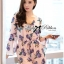 Lady Ribbon Spring Floral Printed Jumpsuit thumbnail 2