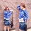 Cliona By N2 Knitting Sweater เสื้อไหมพรม ทอลายดอกไม้ thumbnail 3