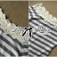 Lady Ribbon Lady Cherline Smart Casual Striped Lace Dress thumbnail 8