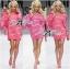 Barbie Girl Sweater Dress เดรสสเวตเตอร์ทอลายสไตล์ Moschino thumbnail 4