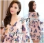 Lady Ribbon Spring Floral Printed Jumpsuit thumbnail 7