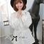 Lady Ribbon White Shirt Dress with Belt thumbnail 5