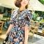 Seoul Secret Chic &Cool Blossom Print Dress thumbnail 1