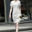 Seoul Secret Lace Dress เดรสผ้าลูกไม้ thumbnail 1