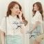 Lady Ribbon เสื้อเชิ้ตลูกไม้ขาว ทรงคลุมไหล่ thumbnail 5