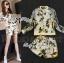 Lady Ribbon Set เซ็ตเสื้อแจ๊คเก็ต กางเกงขาสั้นพิมพ์ลายดอกไม้ thumbnail 2