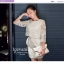 Icevanilla Luxury See-through White Lace Dress thumbnail 1