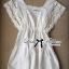 Lady Ribbon เดรสผ้าคอตตอนสีขาว ฉลุลายลูกไม้ thumbnail 12