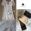 Lady Ribbon Sweet Honey Lace Dress เดรสผ้าลูกไม้ลายดอกสีขาว thumbnail 9