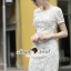 Seoul Secret Lace Dress เดรสผ้าลูกไม้ thumbnail 4