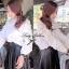 Lady Ribbon เสื้อเชิ้ตสีขาว แต่งดีเทลดอกกุหลาบช่วงไหล่ thumbnail 5